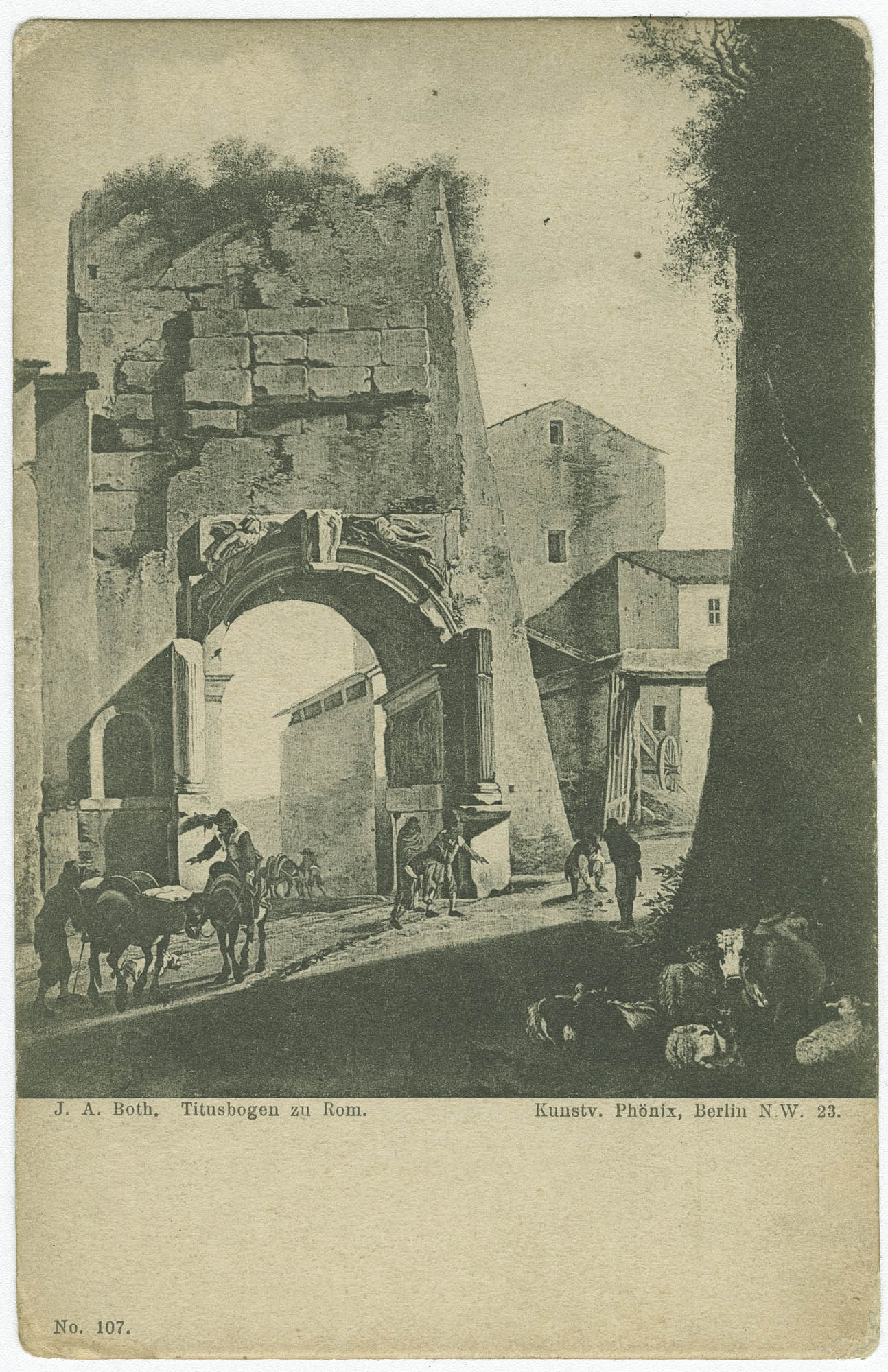 Titusbogen zu Rom