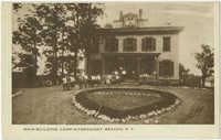 Main Building, Camp Nitgedaiget. Beacon, N.Y.