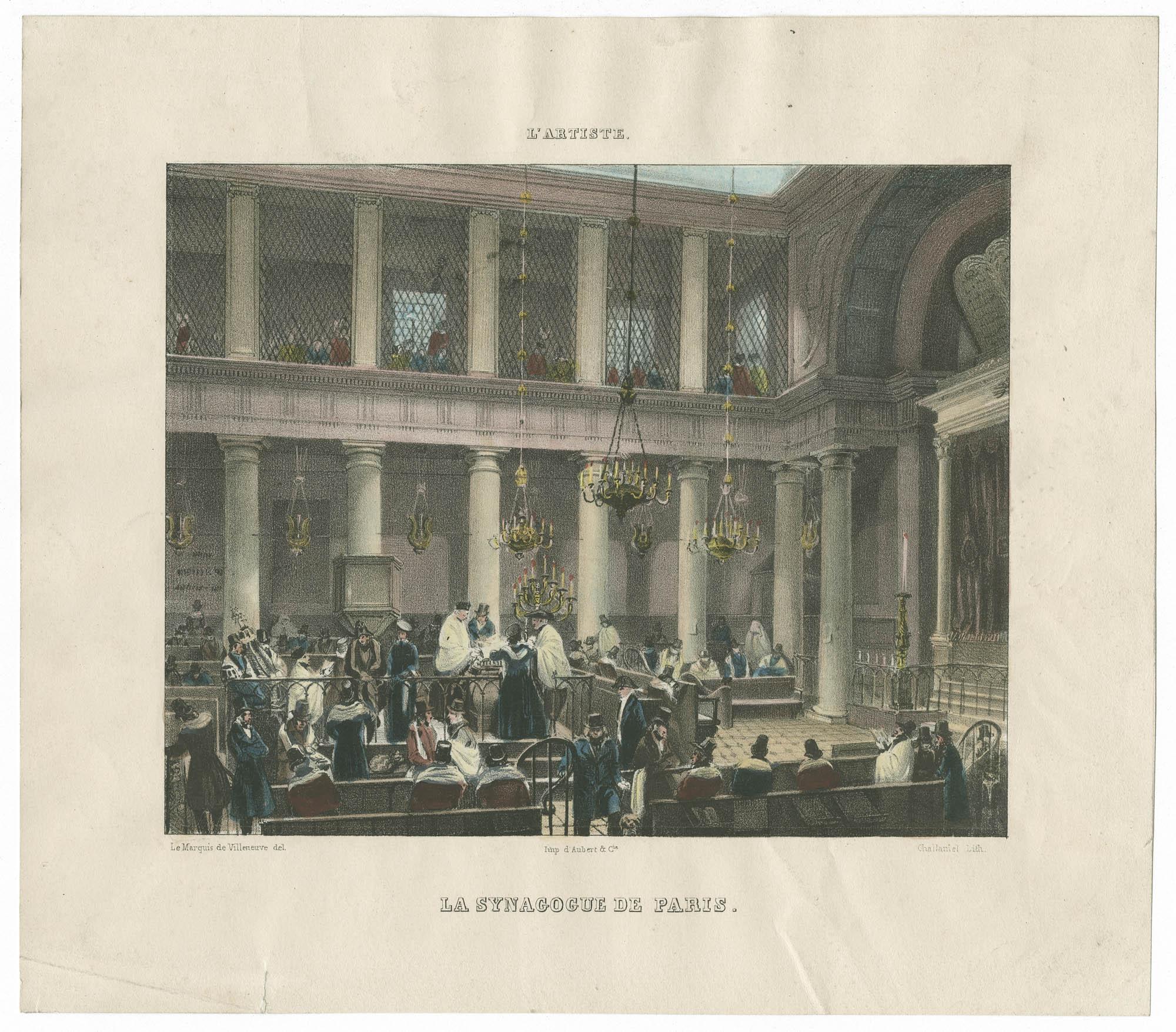 La Synagogue de Paris