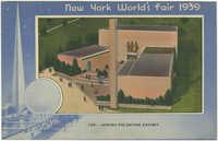 Jewish Palestine Exhibit Building, New York World's Fair 1939