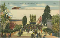 The Jewish-Palestine Building, New York World's Fair