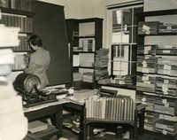 Staff work room, Main Library