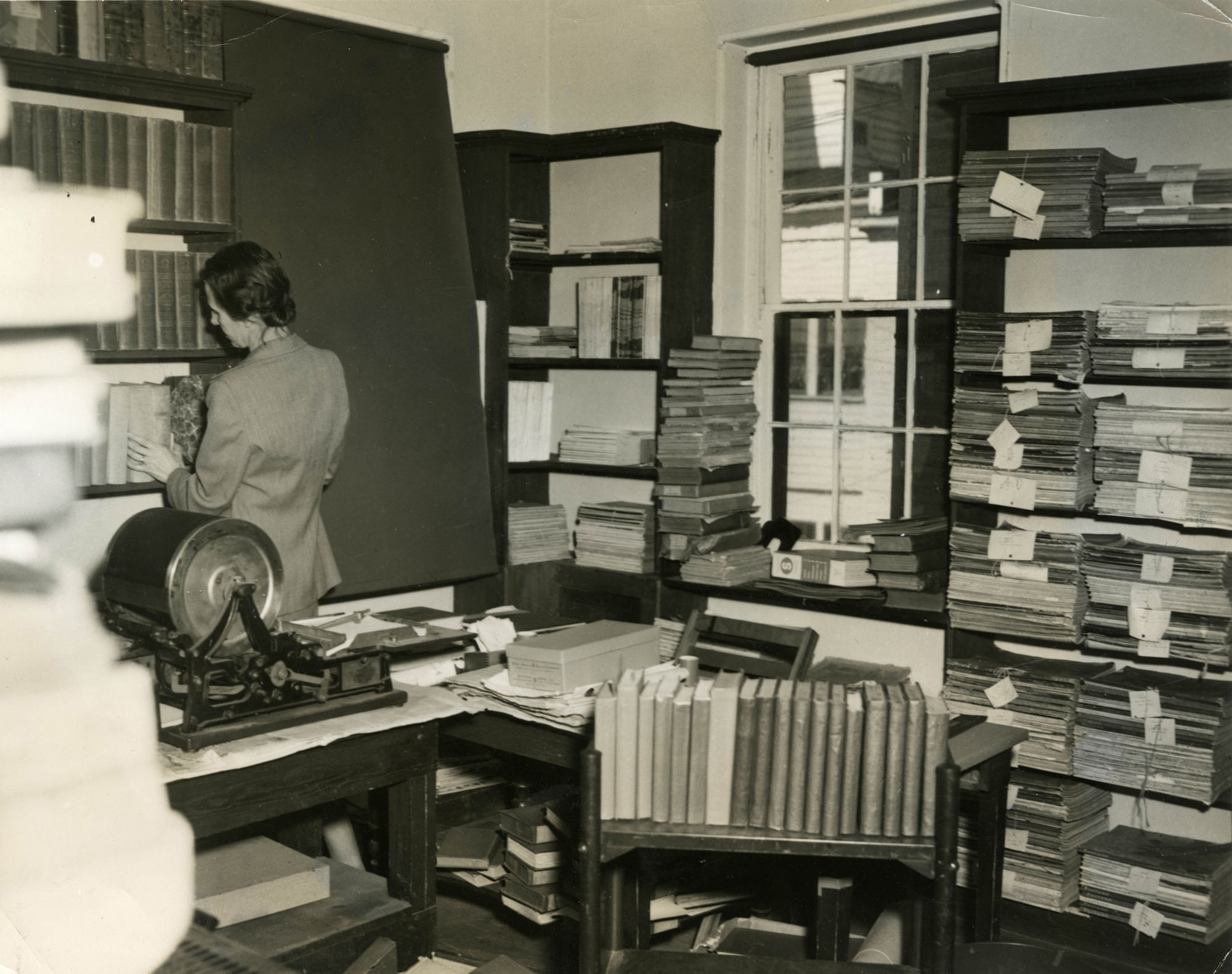 Staff work room, Main Library