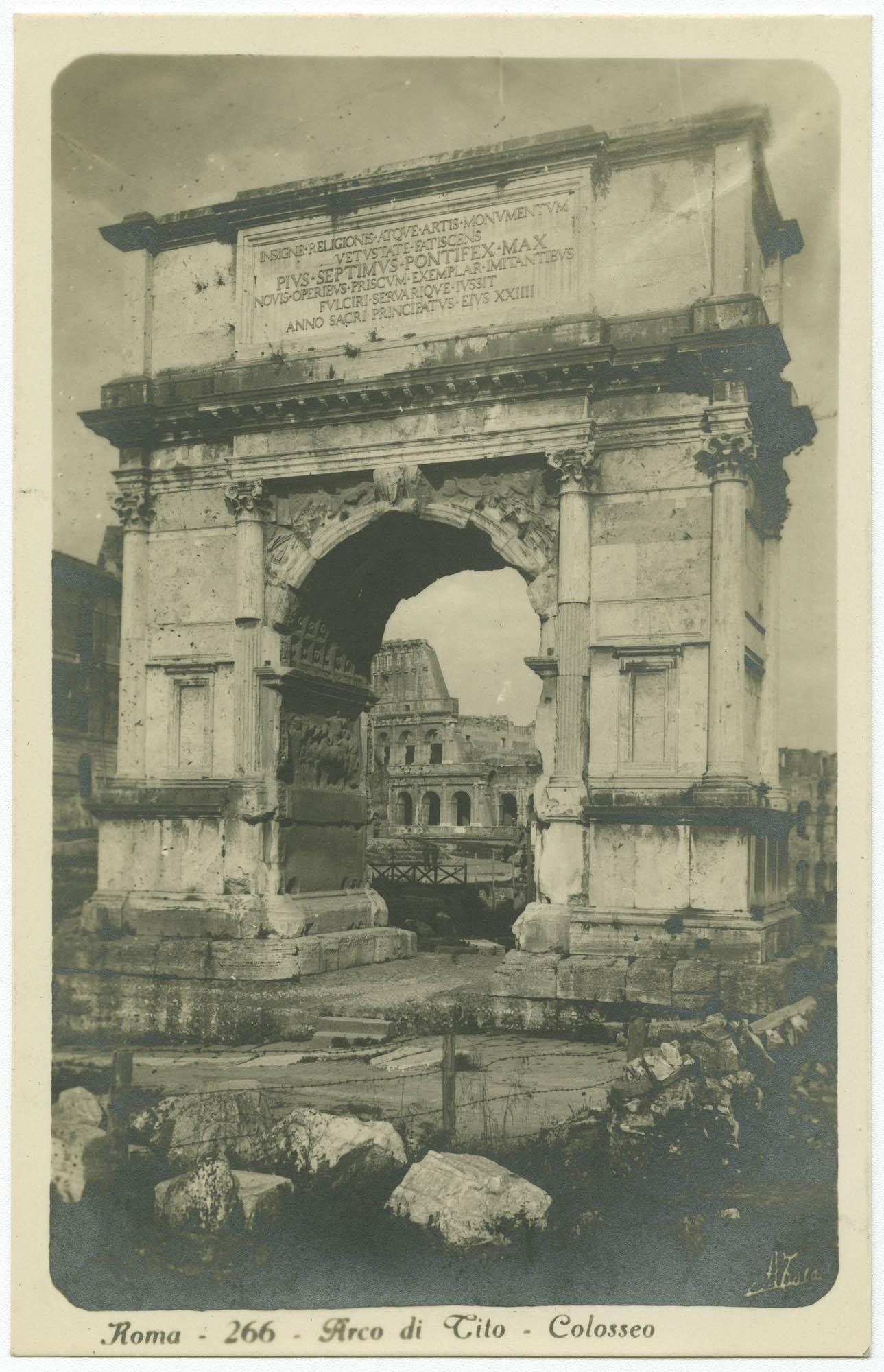 Roma - Arco di Tito - Colosseo