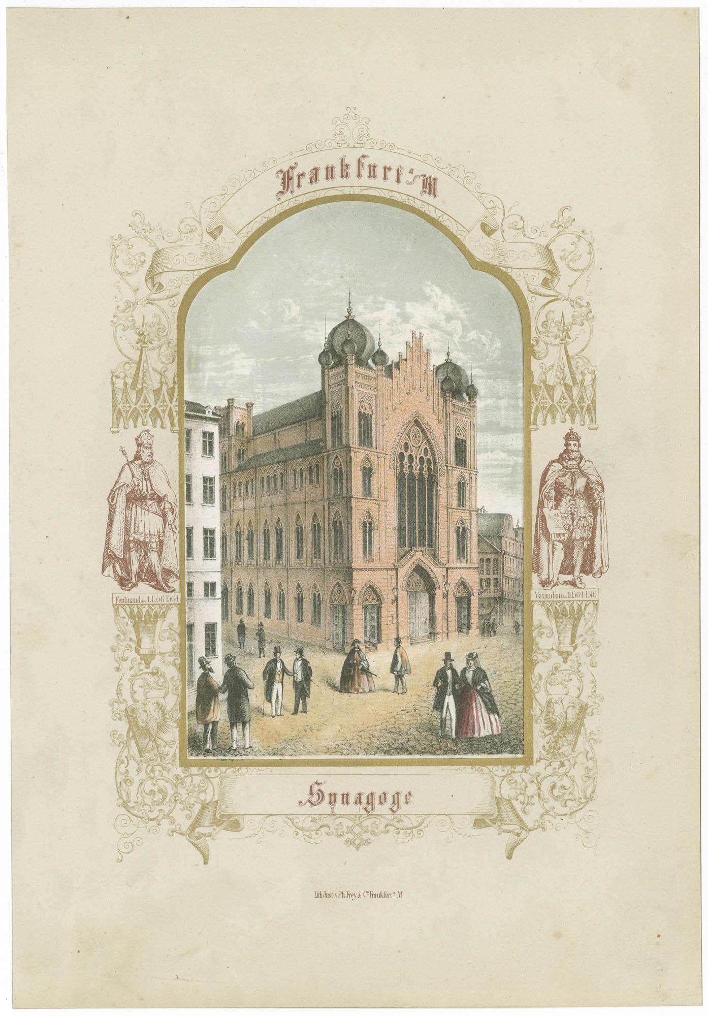 Frankfurt a M Synagoge