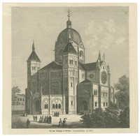 Die neue Synagoge in Breslau