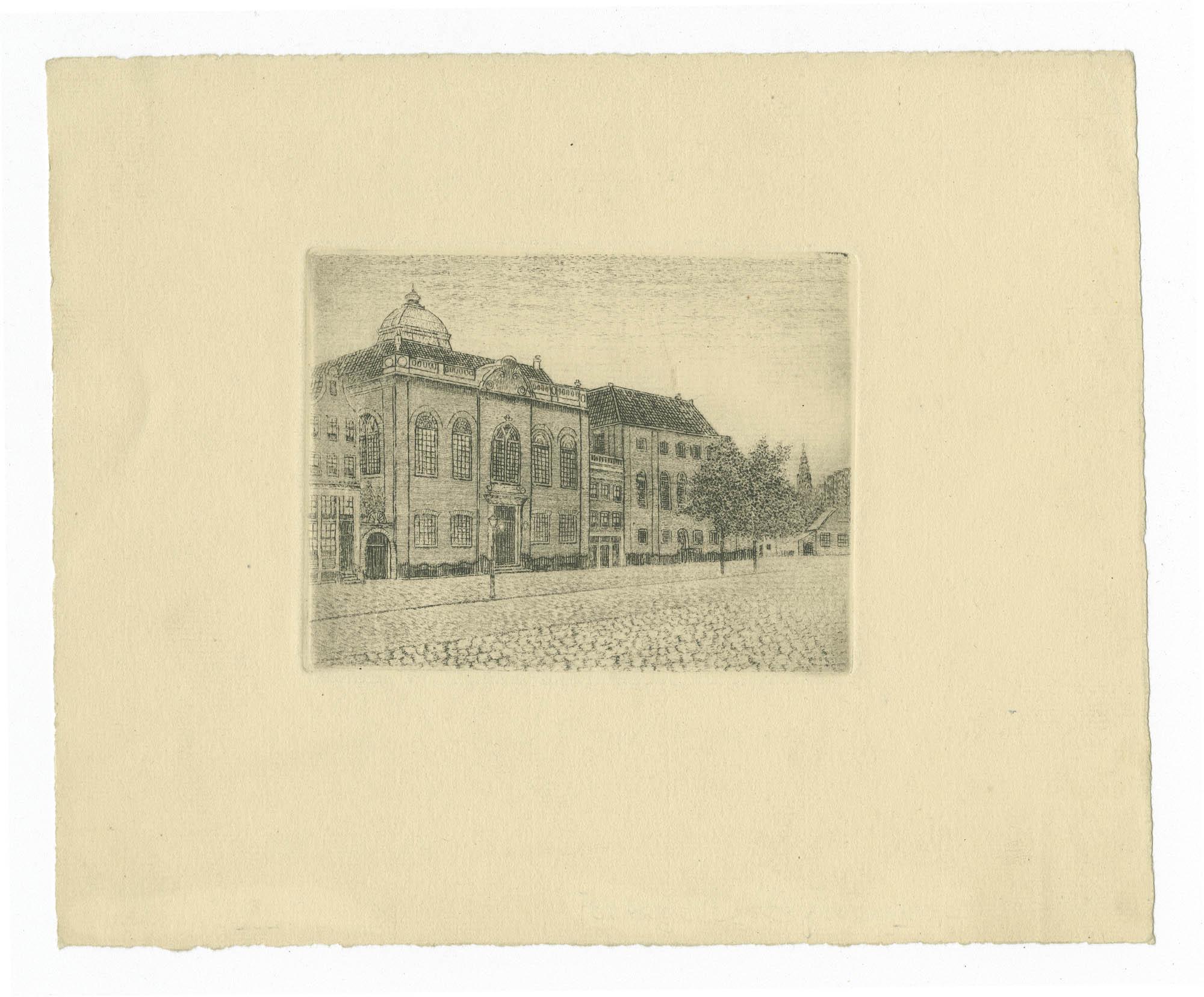 [Synagoge aan J.D. Meijerplein te Amsterdam]