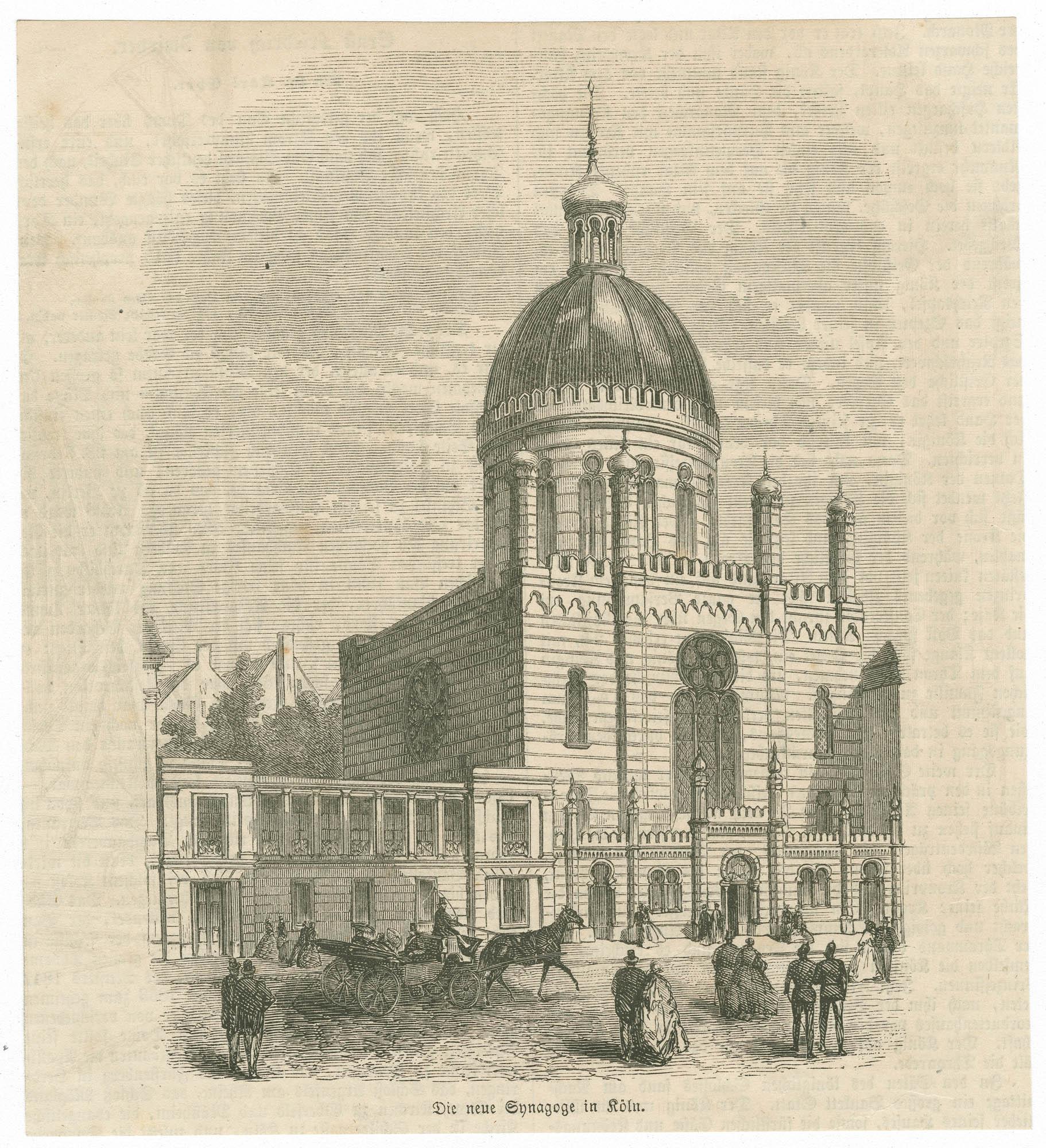 Die neue Synagoge in Köln