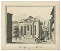 Die Synagoge in Breslau