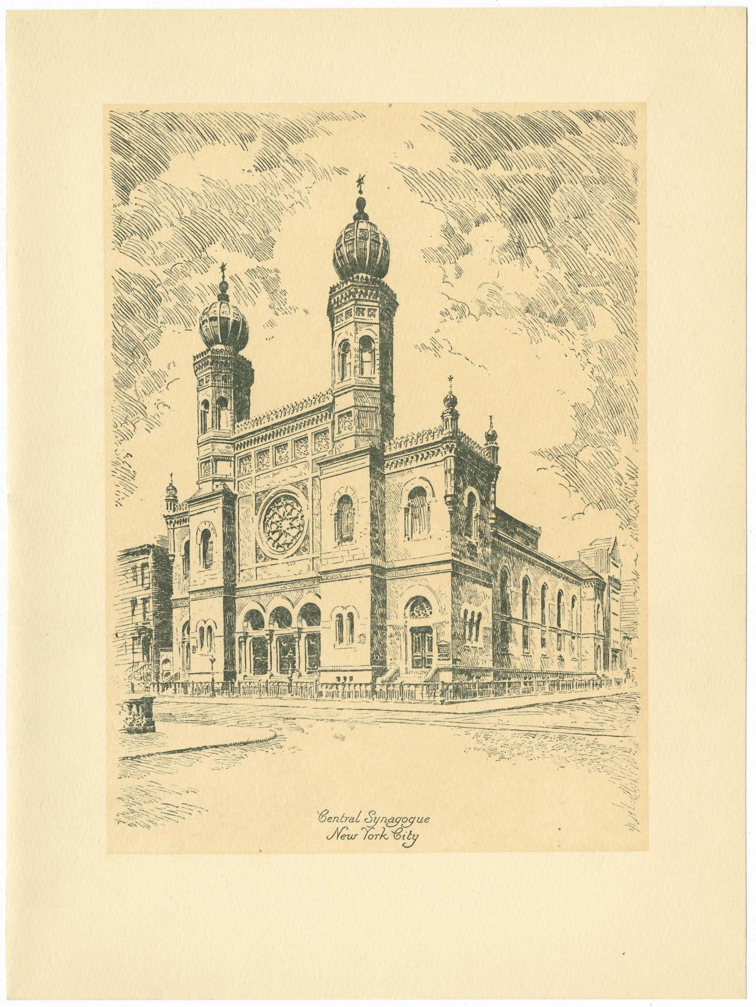 Central Synagogue, New York City