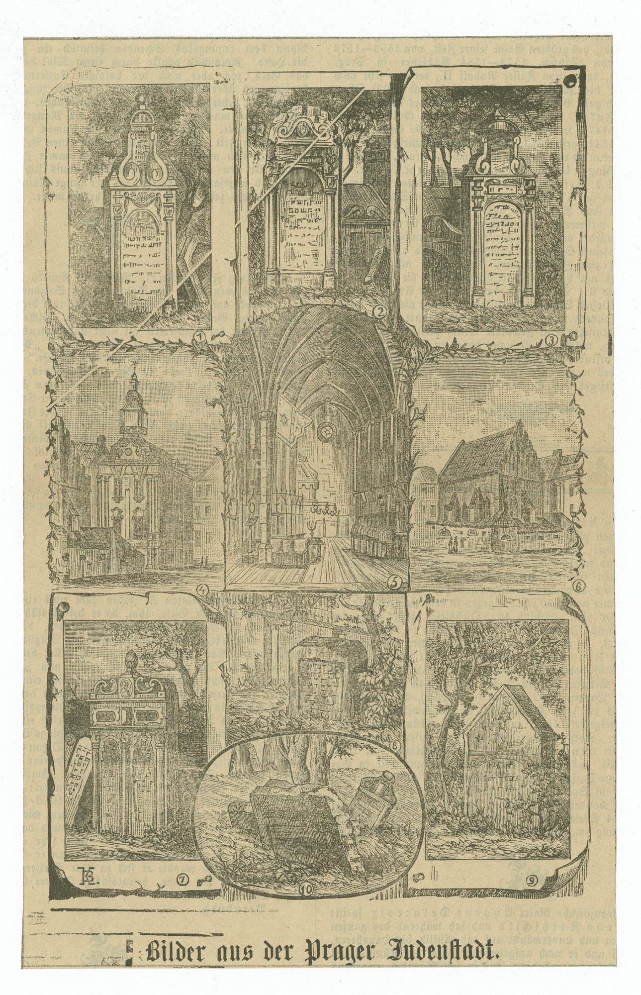Bilder aus der Prager Judenstadt