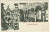 Praha. - Císaře Františka Josefa jubilejní synagoga.