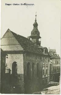 Prager Ghetto: Hochsynagoge