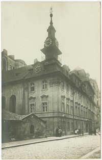 Židovská radnice, Praha