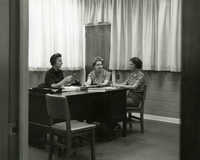 Staff meeting, Main Library