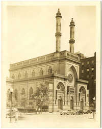 [Isaac M. Wise Temple, 8th & Plum Streets. Cincinnati, OH]