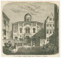 Die neue Synagoge in Hamburg