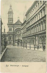 Kgl. Weinberge. - Synagoge.