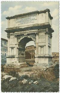 Roma - Arco di Tito / Arc de Titus / Arch of Titus / Der Titus-Bogen