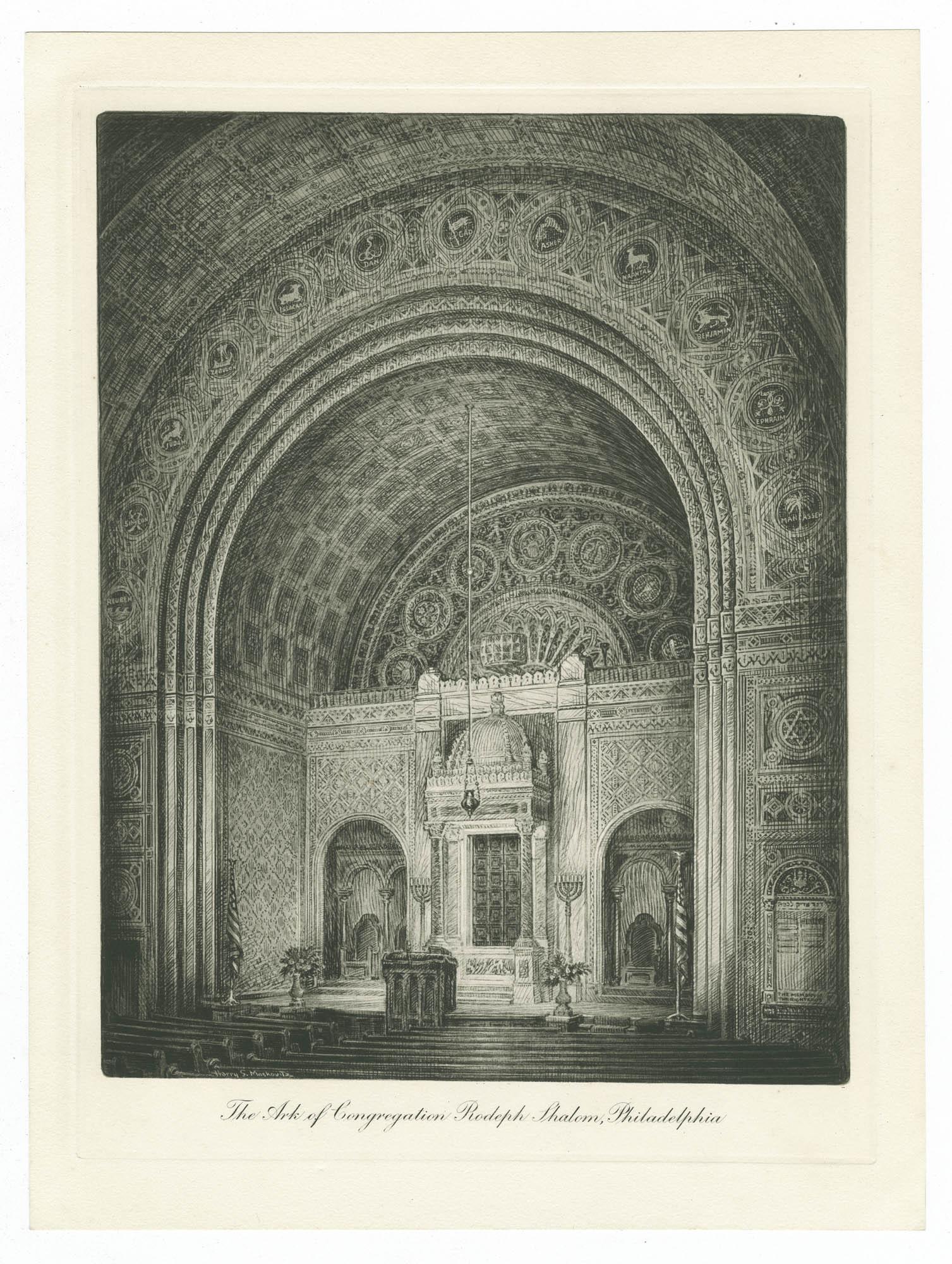 The Ark of Congregation Rodeph Shalom, Philadelphia