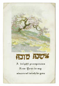 A bright prosperous New Year is my sincerest wish to you / לשנה טובה