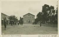 Rishon-Le-Zion, Herzl St. & the Synagog. / ראשון-לציון, רחוב הרצל עם בית הכנסת
