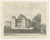 Ansicht der Synagoge in Dresden