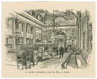 Le grande synagogue, place du Duc, à Aldgate