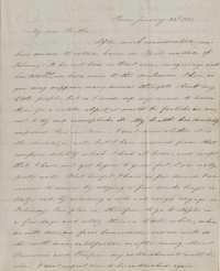 121. Esther Heyward to James B. Heyward -- January 22, 1851