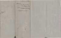 118. Memorandum for purchase of Fife Plantation -- January, 7, 1852