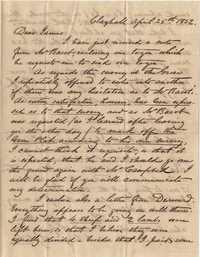 137. William Henry Heyward to James B. Heyward -- April 25, 1852
