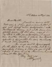 138. William Henry Heyward to James B. Heyward -- April 26, 1852