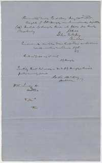 237. Record of transactions at Bennett's Mill -- May 30, 1865