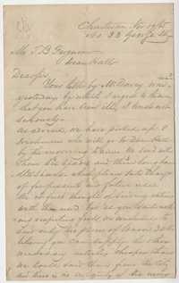 262. William McBurney to Thomas B. Ferguson -- November 19, 1865