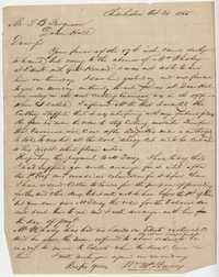 258. William McBurney to Thomas B. Ferguson -- October 21, 1865