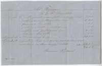 232. Receipt of payment by Thomas B. Ferguson to E. F. Benedikt [Benedict?] -- 1865