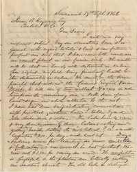 285. William Henry Heyward to James B. Heyward -- April 17, 1866