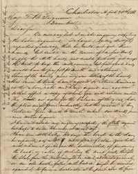 286. William McBurney to Thomas B. Ferguson -- April 20, 1866