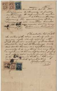257. Letter of authority granted to Thomas B. Ferguson -- October 21, 1865