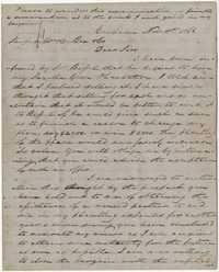 311. James B. Heyward to William C. Bee -- November 11, 1866