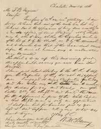277. William McBurney to Thomas B. Ferguson -- March 14, 1866