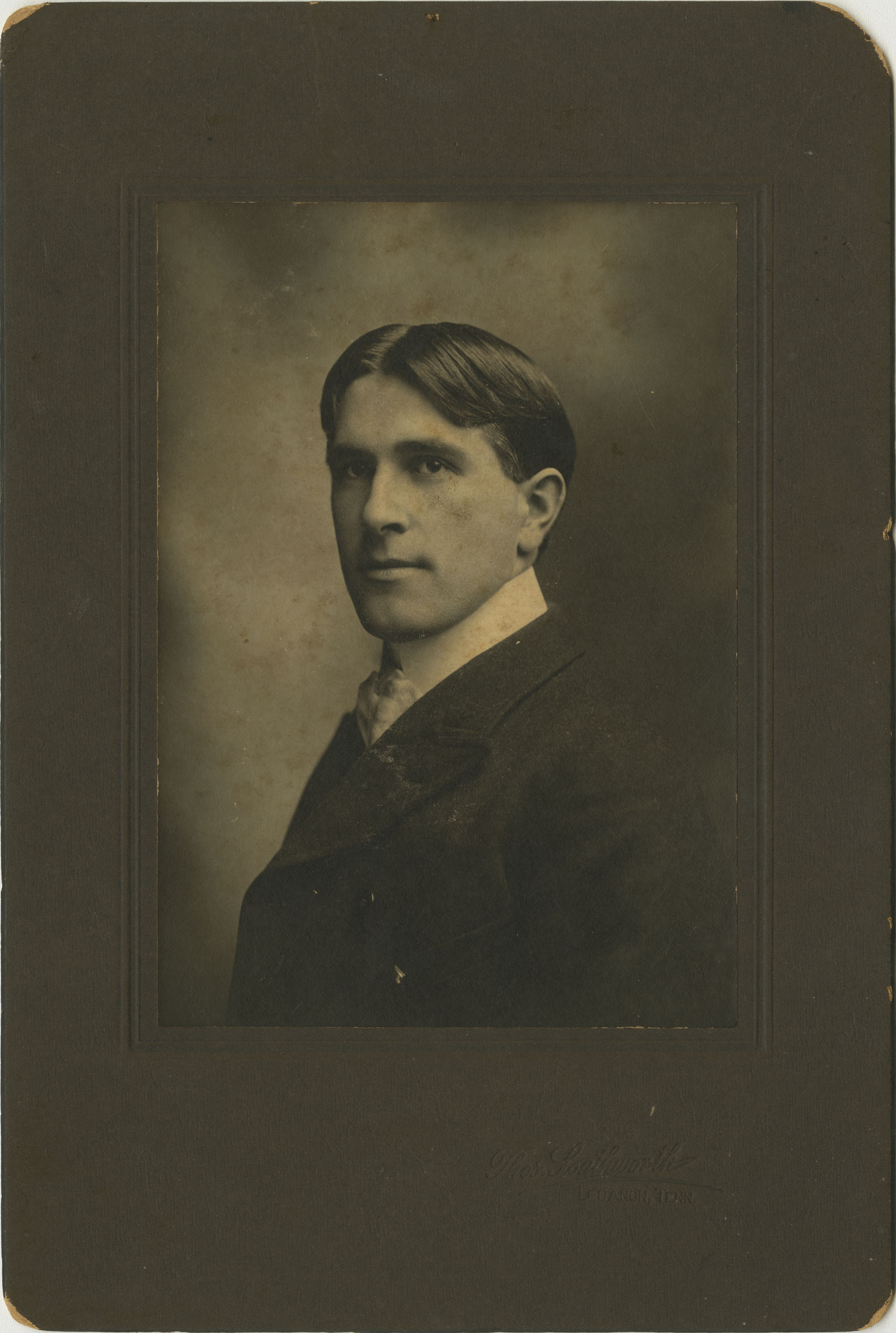 A Portrait of Unidentified Man 1