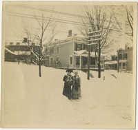 Two Women in Snow