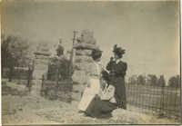 Women Near Gate 2