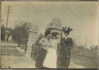 Women Near Gate 1