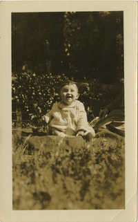 Photograph of Unidentified Infant 1