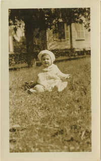 Photograph of Unidentified Infant 2