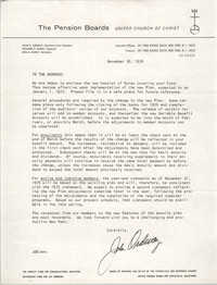 Letter from John Ordway to Septima P. Clark, December 30, 1976