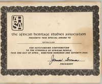 Certificate, April 3, 1975