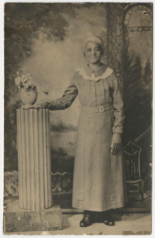 Postcard of Victoria Poinsette